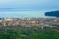 Aarhus set fra luften